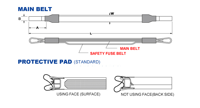 MAIN BELT & SAFETY FUSE BELT
